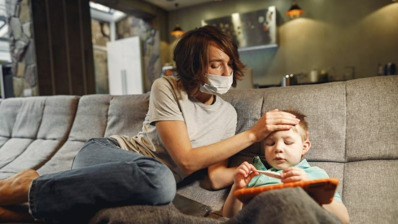 子どもはすぐに熱が出る・病気になることを心得る